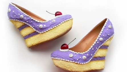 La scarpe che diventano torte: le incredibili creazioni