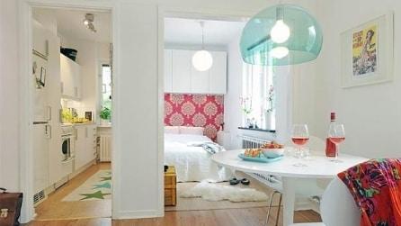 10 idee per far sembrare più grandi i piccoli appartamenti