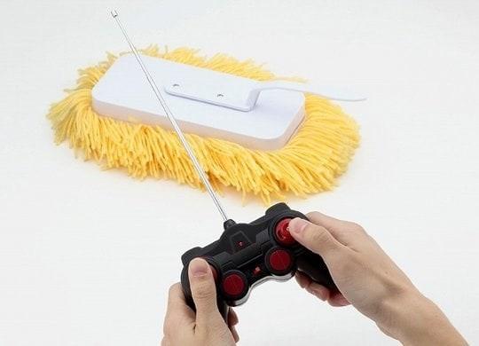Un mop telecomandato