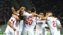 Europa League, le immagini di Fiorentina-Siviglia