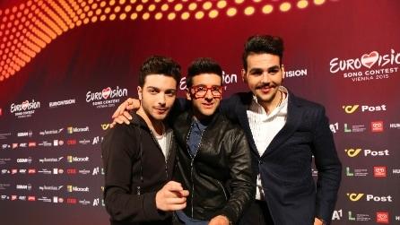 Il volo all'Eurovision Song Festival 2015