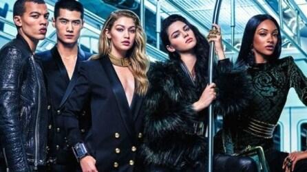 Kendall Jenner presenta la collezione Balmain x H&M