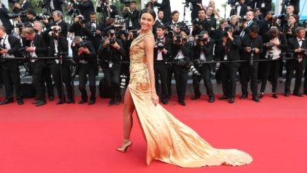 Adriana Lima e irina Shayk: i sexy look delle top a Cannes 2015