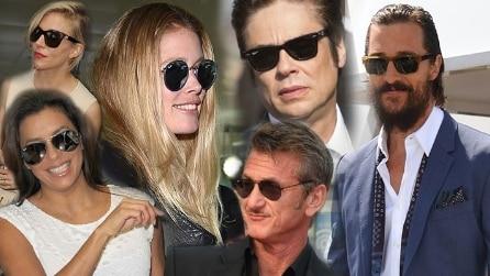 Occhiali da star: ecco i modelli da sole scelti dai divi a Cannes