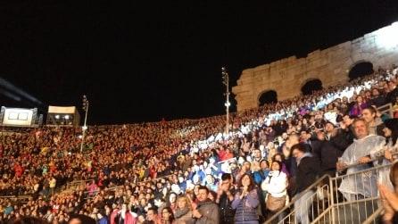 Fabi Silvestri Gazzè, le foto del concerto all'Arena di Verona (22 maggio 2015)