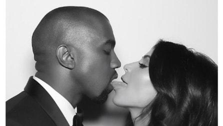 Kim Kardashian e Kanye West, le foto inedite delle nozze