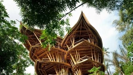 Come costruire una casa sostenibile di bambù