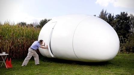 Quando aprirà questa casa a forma di uovo non crederete ai vostri occhi