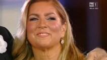Pippo Baudo al concerto di Al Bano e Romina Power