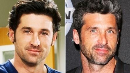 """Il cast di """"Grey's Anatomy"""" ieri e oggi"""