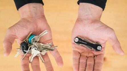 Fastidiosi mazzi di chiavi? Ecco gli oggetti originali che semplificano la vita