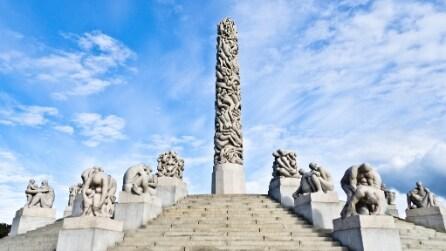 Le incredibili sculture del Vigeland Park ad Oslo