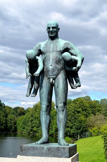 http://commons.wikimedia.org/wiki/File:Other_Figure_of_Bronze_Sculpture_-_Vigeland_Park,_Oslo.jpg