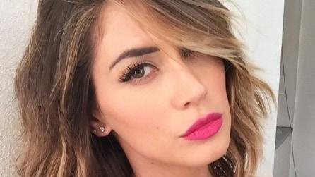 Il nuovo taglio di capelli di Melissa Satta