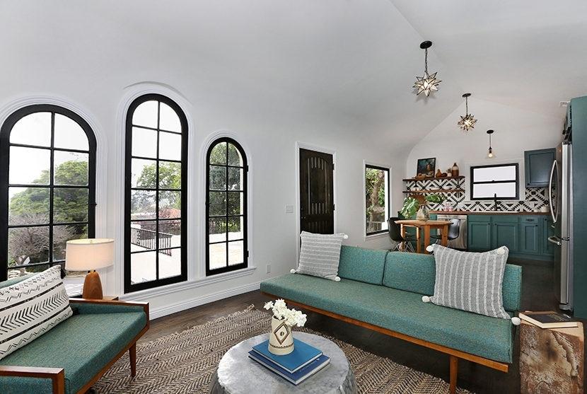 La ristrutturazione è stata fatta rimanendo fedeli allo stile originario della casa.