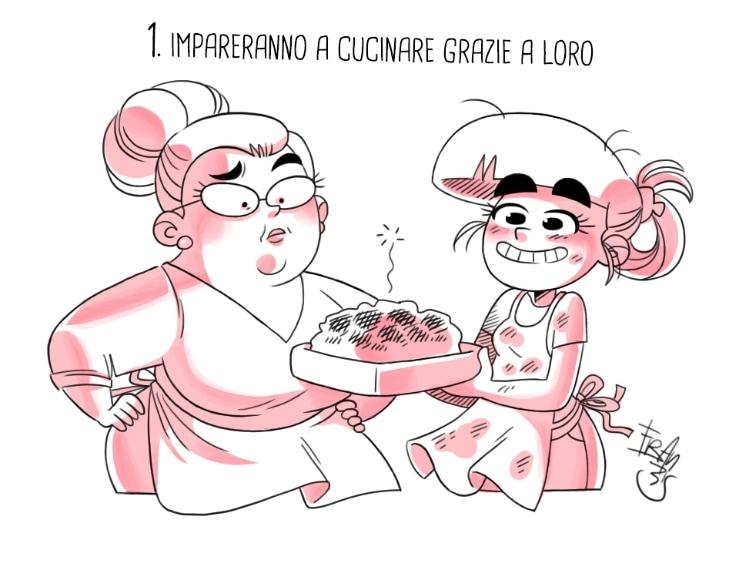 """Chi riesce a cucinare meglio di una nonna? E' proprio lei ad insegnare i """"segreti"""" del mestiere, quei trucchi per rendere ogni piatto davvero irresistibile."""