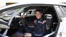 Stoner a Vallelunga con la Lamborghini Huracán LP 620-2 Super Trofeo