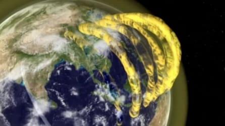 Tubi di gas al di sopra dell'atmosfera terrestre, 60 anni dopo svelato il mistero