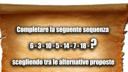 Test di logica: qual è il numero mancante?