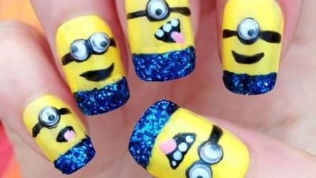 Unghie divertenti e originali: nail art in stile cartoon