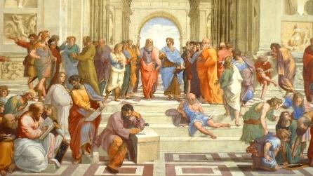 I personaggi più famosi secondo Wikipedia: Aristotele, Platone e Gesù