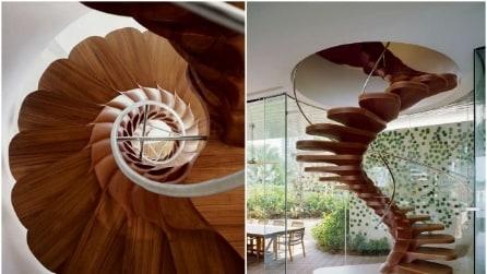 Le 20 scale di casa più spettacolari che abbiate mai visto
