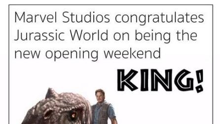 Jurassic Park supera Avengers: tutti i complimenti tra registi