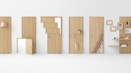 Seven Doors: la porta si arreda e diventa mutifunzionale