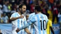Argentina, tutto facile con la Giamaica
