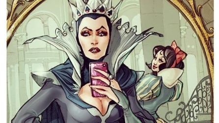 I selfie dei cartoni Disney, i personaggi delle fiabe sbarcano su Instagram