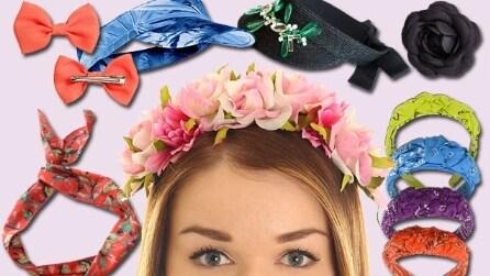 Gli accessori per capelli più glam dell'estate 2015