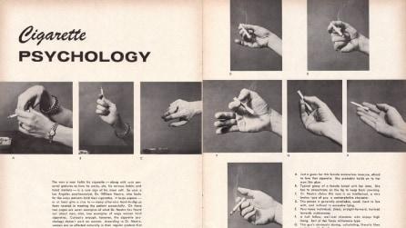 Dimmi come reggi la sigaretta e ti dirò chi sei