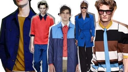 10 trend per la Primavera/Estate 2016 dalle passerelle uomo di Milano