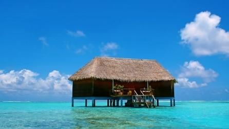 10 incantevoli abitazioni in mezzo al mare