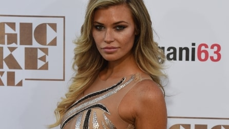 "L'abito ""sbagliato"" di Samantha Hoopes alla prima di ""Magic Mike XXL"""