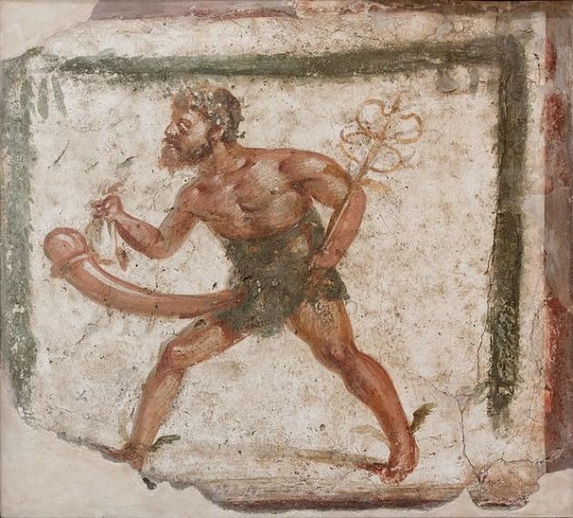 """Qui infatti sono collezionati e visitabili dal 2000 tutti gli oggetti di arte erotica rinvenuti negli scavi di Pompei ed Ercolano: diverse scene dai lupanari (luoghi destinati al piacere), numerosi """"falli"""" decorativi, che al tempo di Romanii erano considerati simbolo di buon auspicio."""