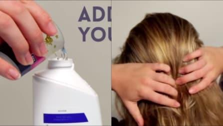 Versa vodka nel flacone dello shampoo: ecco cosa succede ai suoi capelli