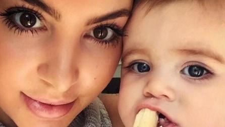 Egypt, la bimba più amata dalla famiglia Kardashian