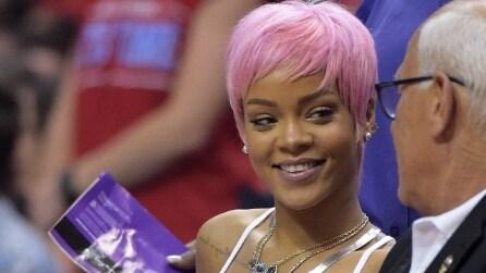 I capelli rosa delle celebrities