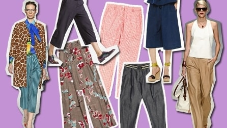 "Dal ""panta-palazzo"" al pantalone crop: 6 modelli comodi per l'estate 2015"
