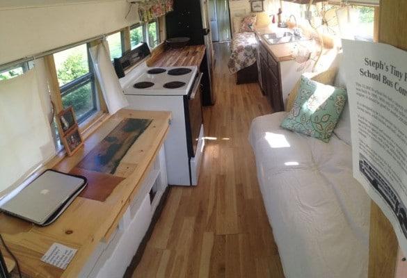 Una vera e propria casa mobile con tutti i comfort