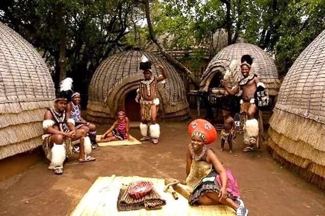 Tradizionale villaggio africano