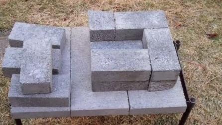 Con solo una manciata di mattoni crea qualcosa di impensabile