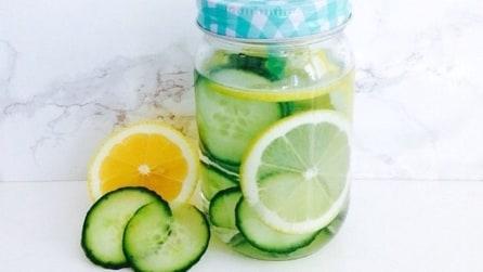 Detox Water, le ricette su Instagram