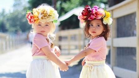 Everleigh ed Ava: a soli 2 anni diventano icone di stile