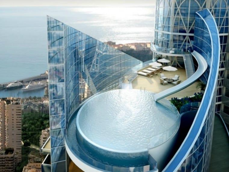 Una torre extra lusso di 49 piani e 259 appartamenti.