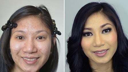 Prima e dopo il make up: ecco come si cambia con il trucco