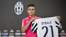 Dybala alla Juve con la maglia numero 21, come Pirlo e Zidane