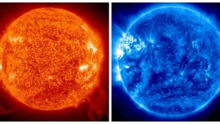 Il sole diventa blu: la Nasa mostra le immagini mai viste prima