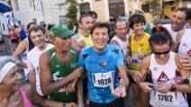 Gianni Morandi alla Corsa de Noantri a Trastevere